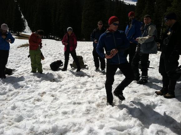 avalanche beacon test