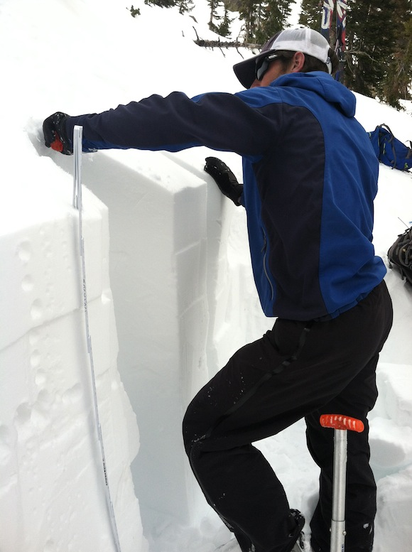 snow pit isolation