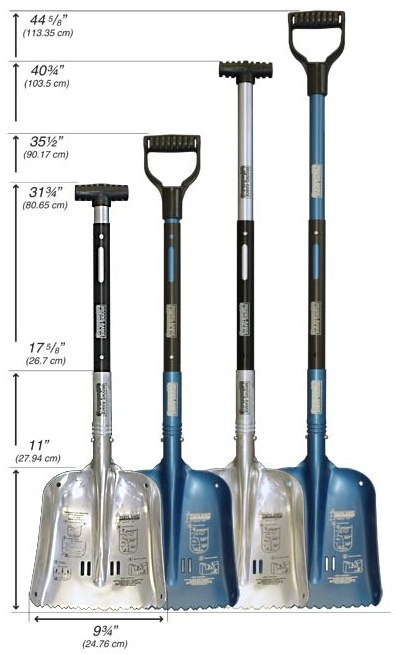 Brooks Range Avalanche shovel