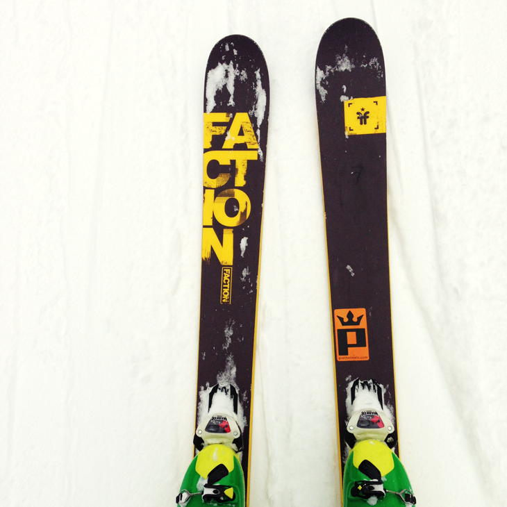 a friend in the pow faction candide thovex 3 0 ski. Black Bedroom Furniture Sets. Home Design Ideas