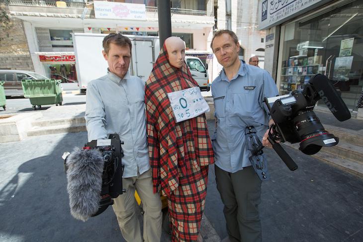 Jordan film crew
