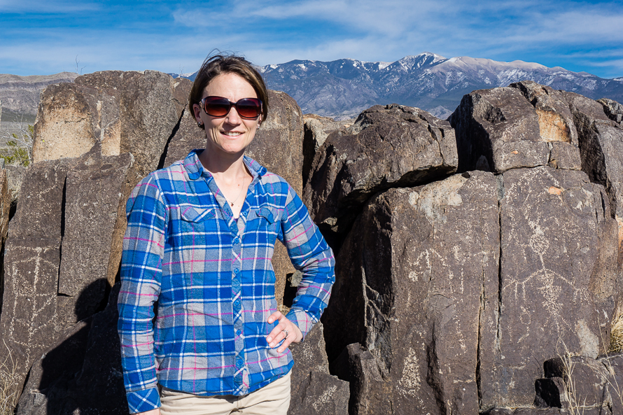Petroglyphs in New Mexico