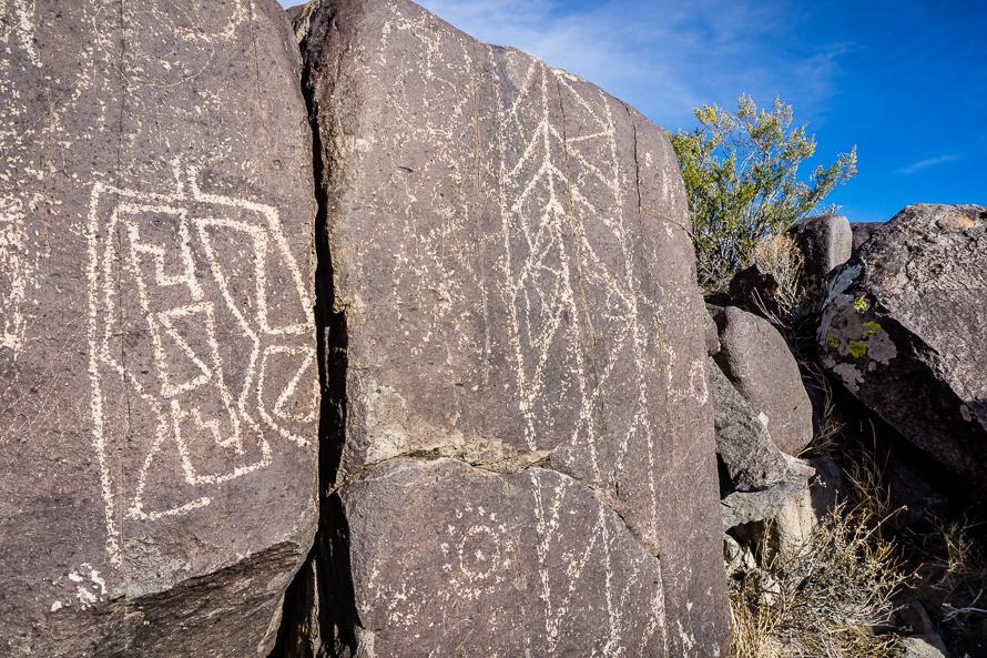 Three Rivers Large Stone Petroglyhs