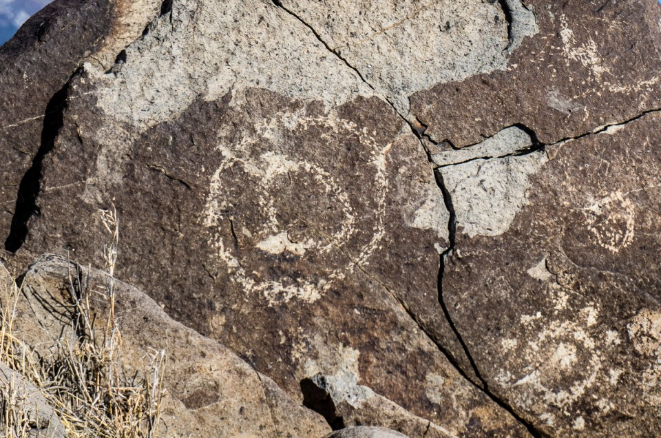 Petroglyphs in New Mexico, Three Rivers Site