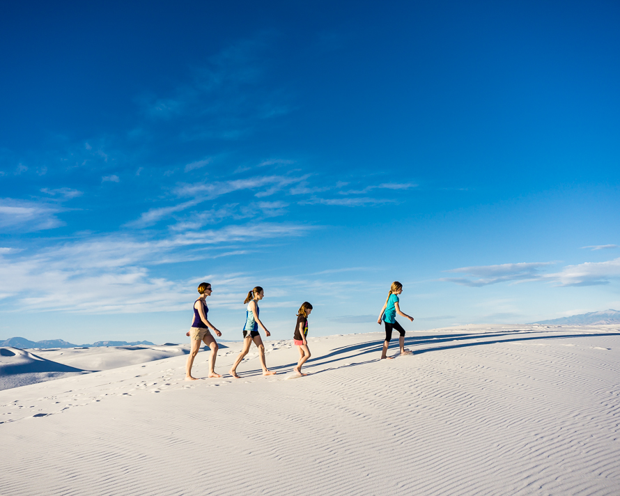 White Sands hike