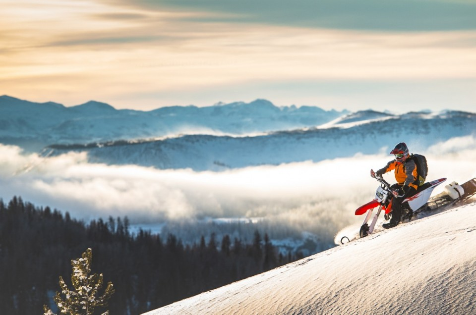 Riding Timbersled Snow Bikes In The Utah Backcountry