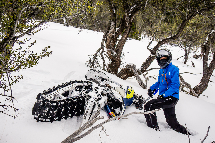 Riding Timbersled Snow Bikes In The Utah Backcountry ...